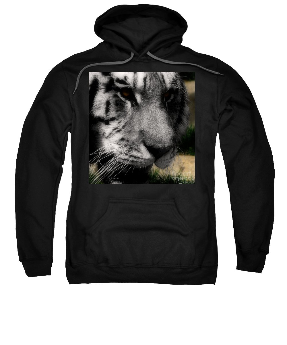 Wildlife Sweatshirt featuring the photograph Absolute by September Stone