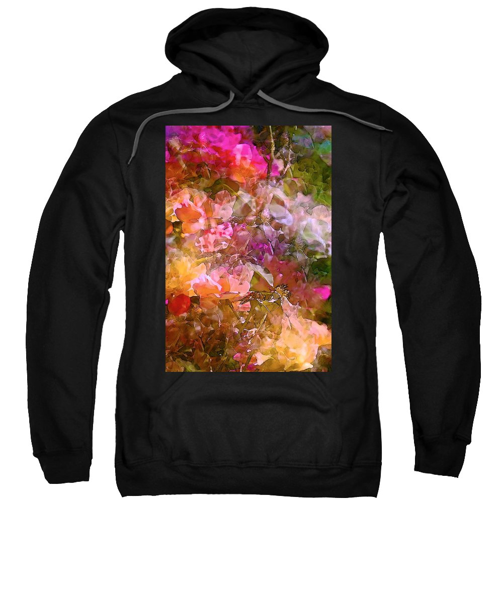 Abstract Sweatshirt featuring the photograph Abstract 276 by Pamela Cooper