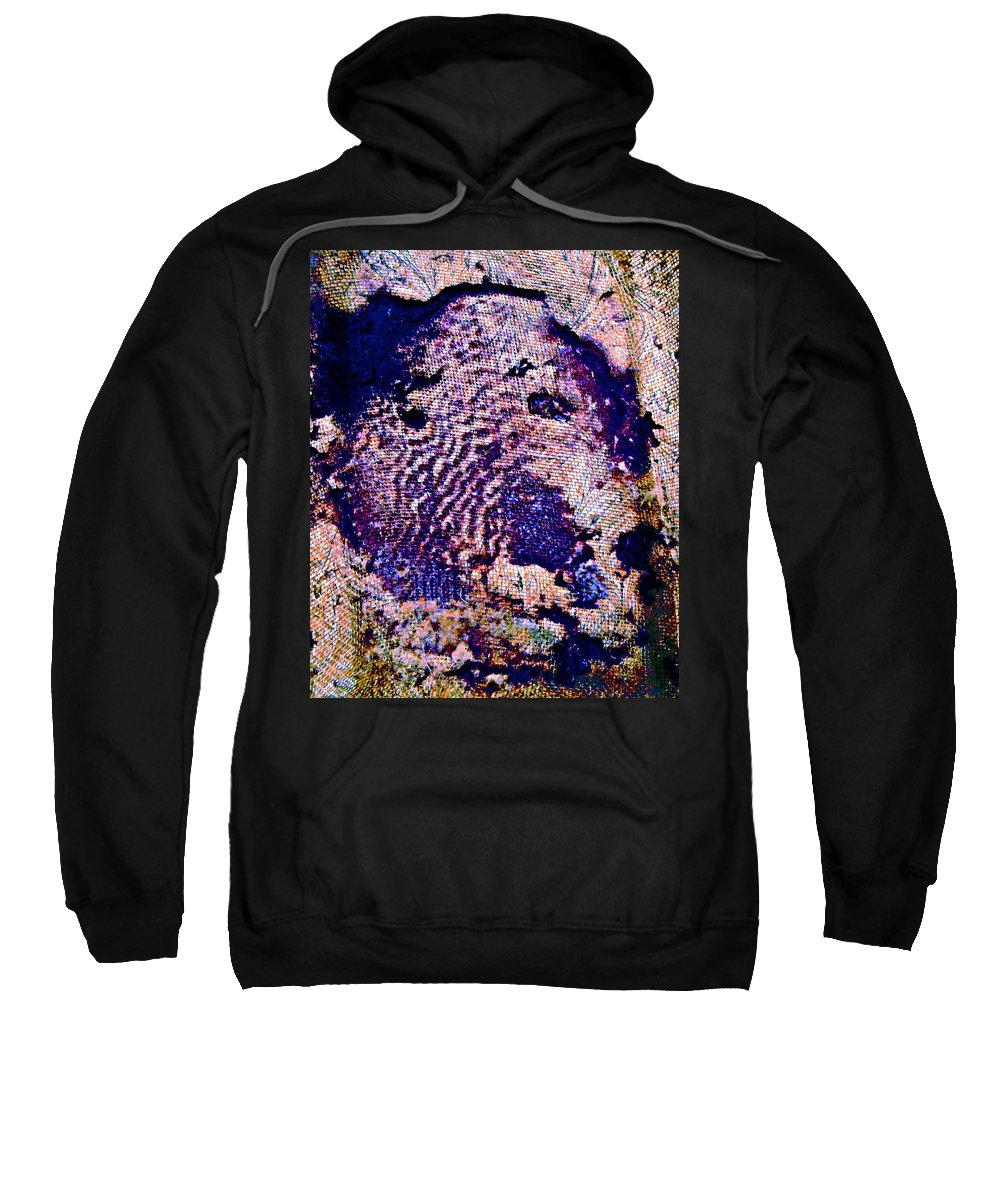 Abstract Sweatshirt featuring the mixed media Abstract by Natalie Holland