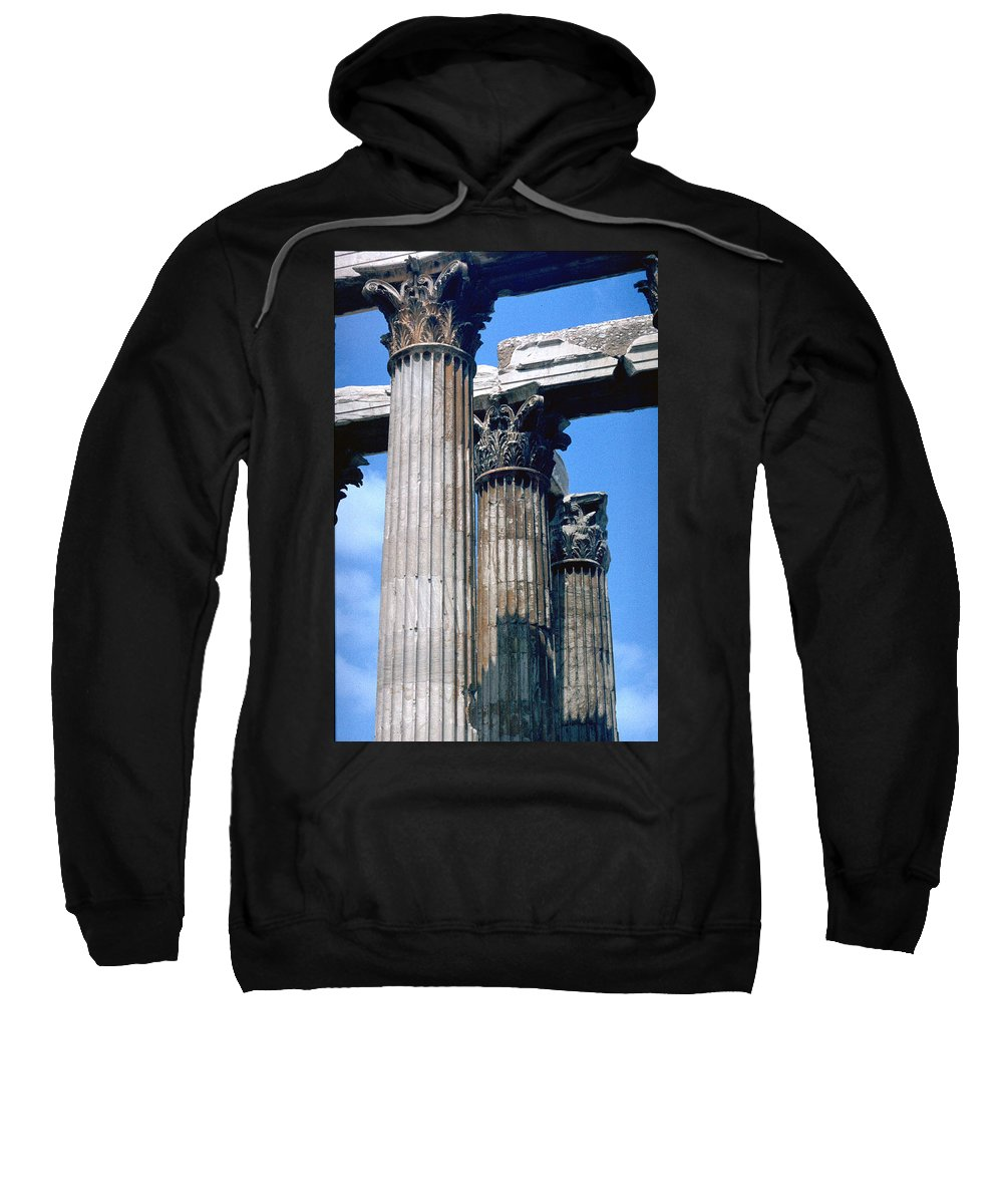 Acropolis Sweatshirt featuring the photograph Acropolis by Flavia Westerwelle