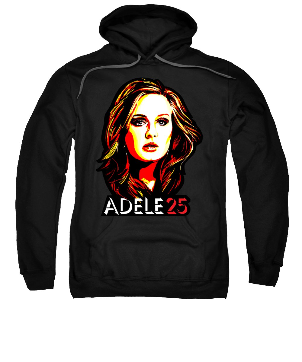 Adele Hooded Sweatshirts T-Shirts
