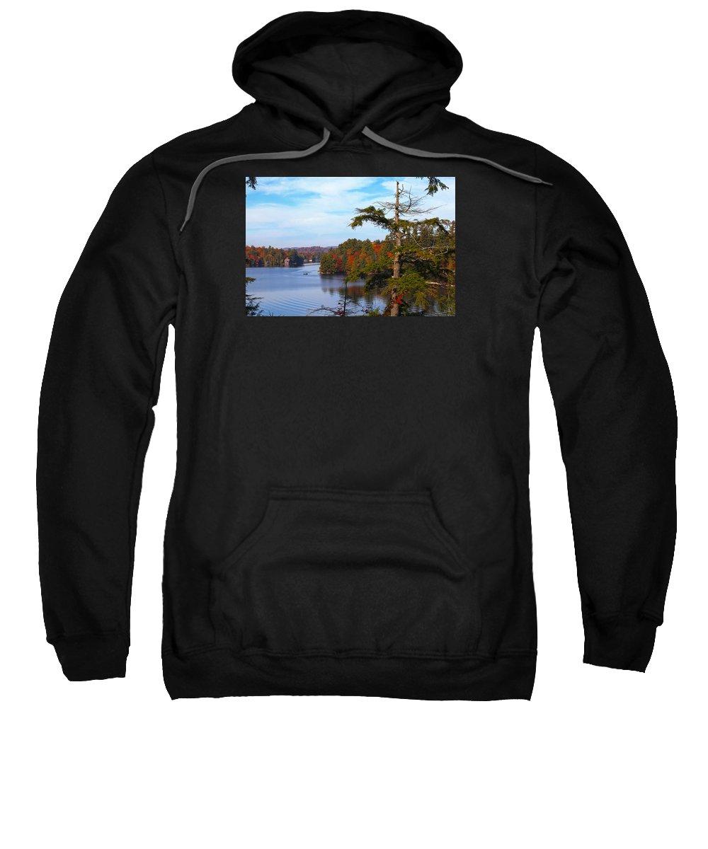 Adirondack Sweatshirt featuring the photograph Adirondack View by Robert Och