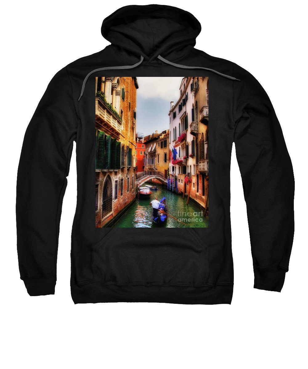 Venice Sweatshirt featuring the photograph Ahh Venezia by Lois Bryan