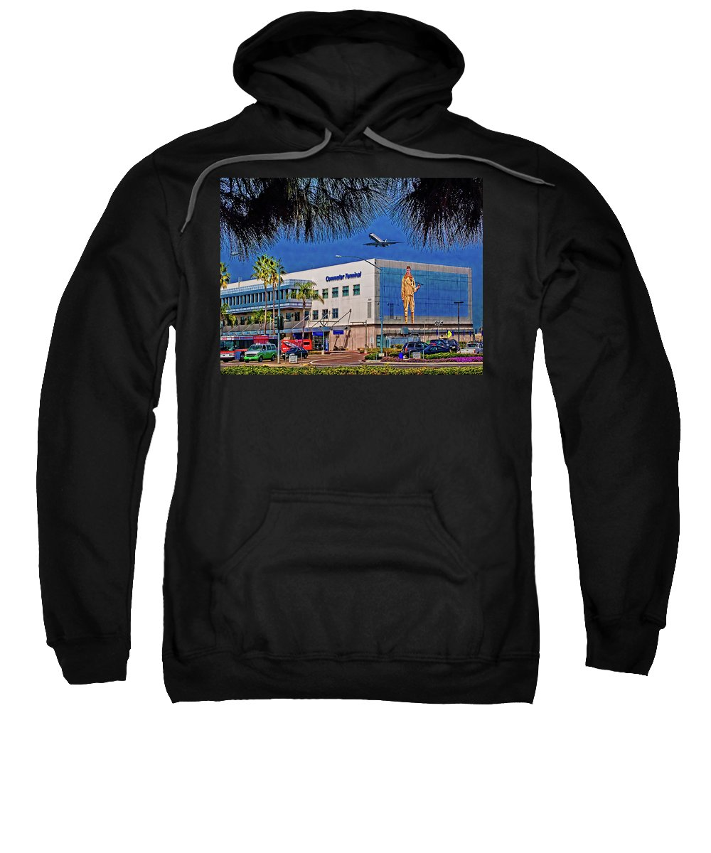 Airport Sweatshirt featuring the photograph Airport by Chris Lord