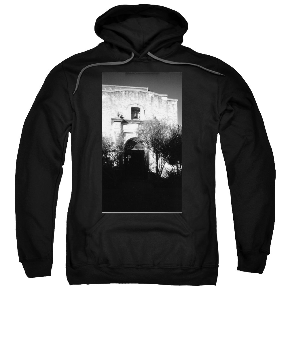 Alamo Sweatshirt featuring the photograph Alamo by Pharris Art