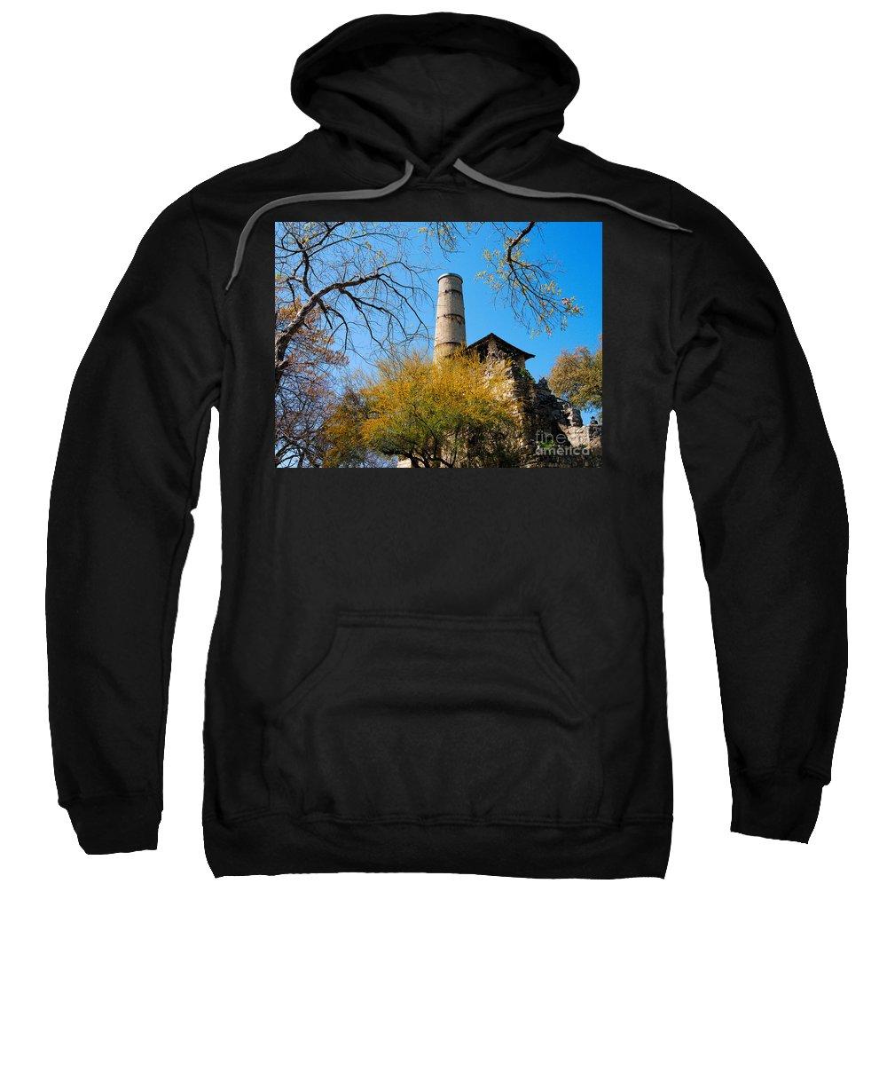 Alamo Sweatshirt featuring the photograph Alamo Portland Cement Factory II by Gary Richards