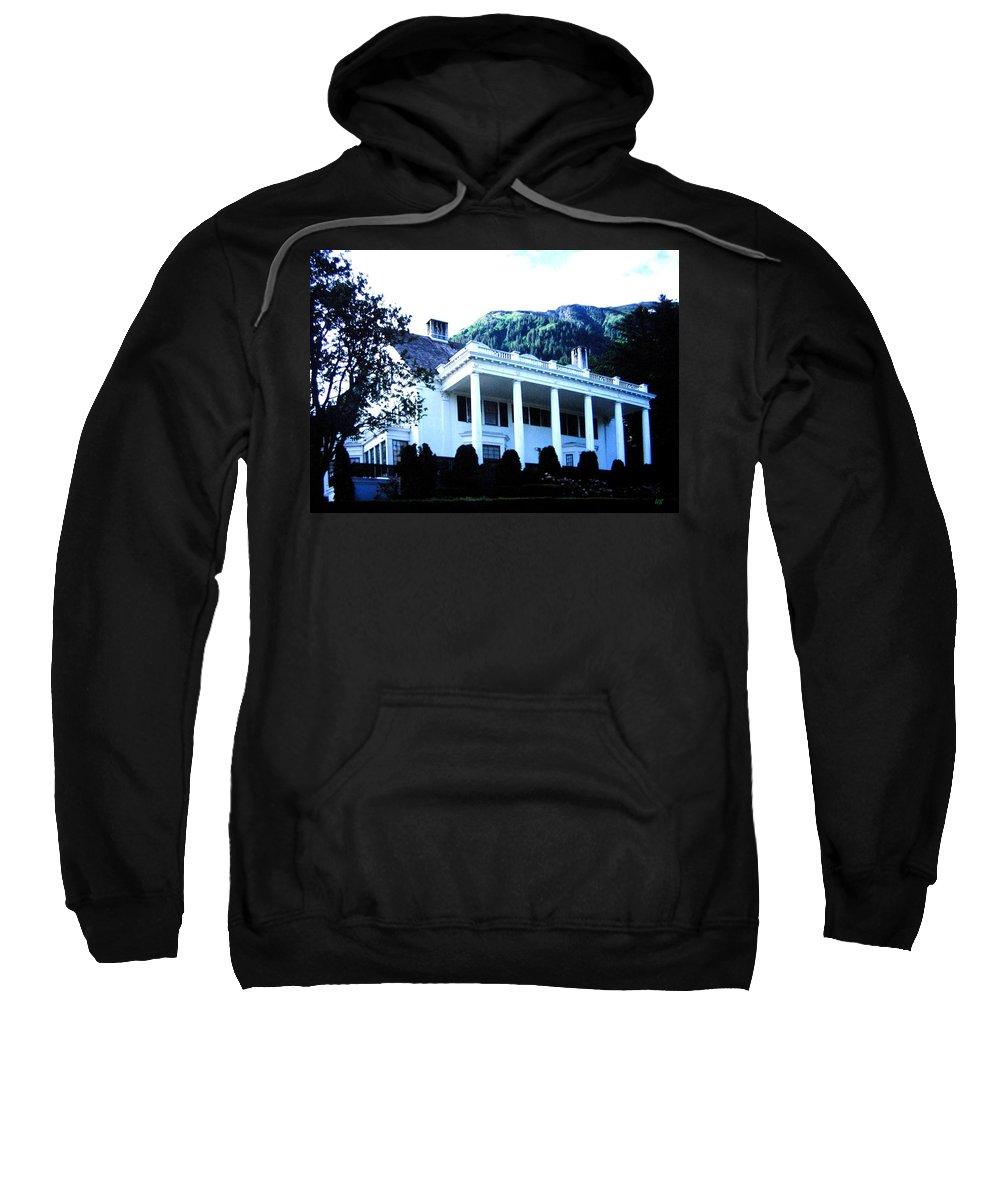 Alaska Sweatshirt featuring the photograph Alaska Governors Mansion by Will Borden
