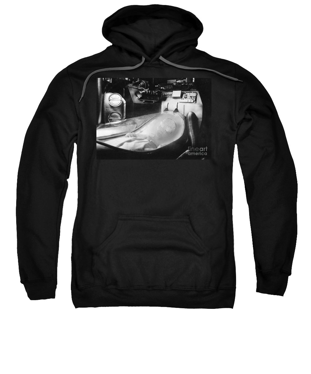 20th Century Sweatshirt featuring the photograph Alien Photograph by Granger