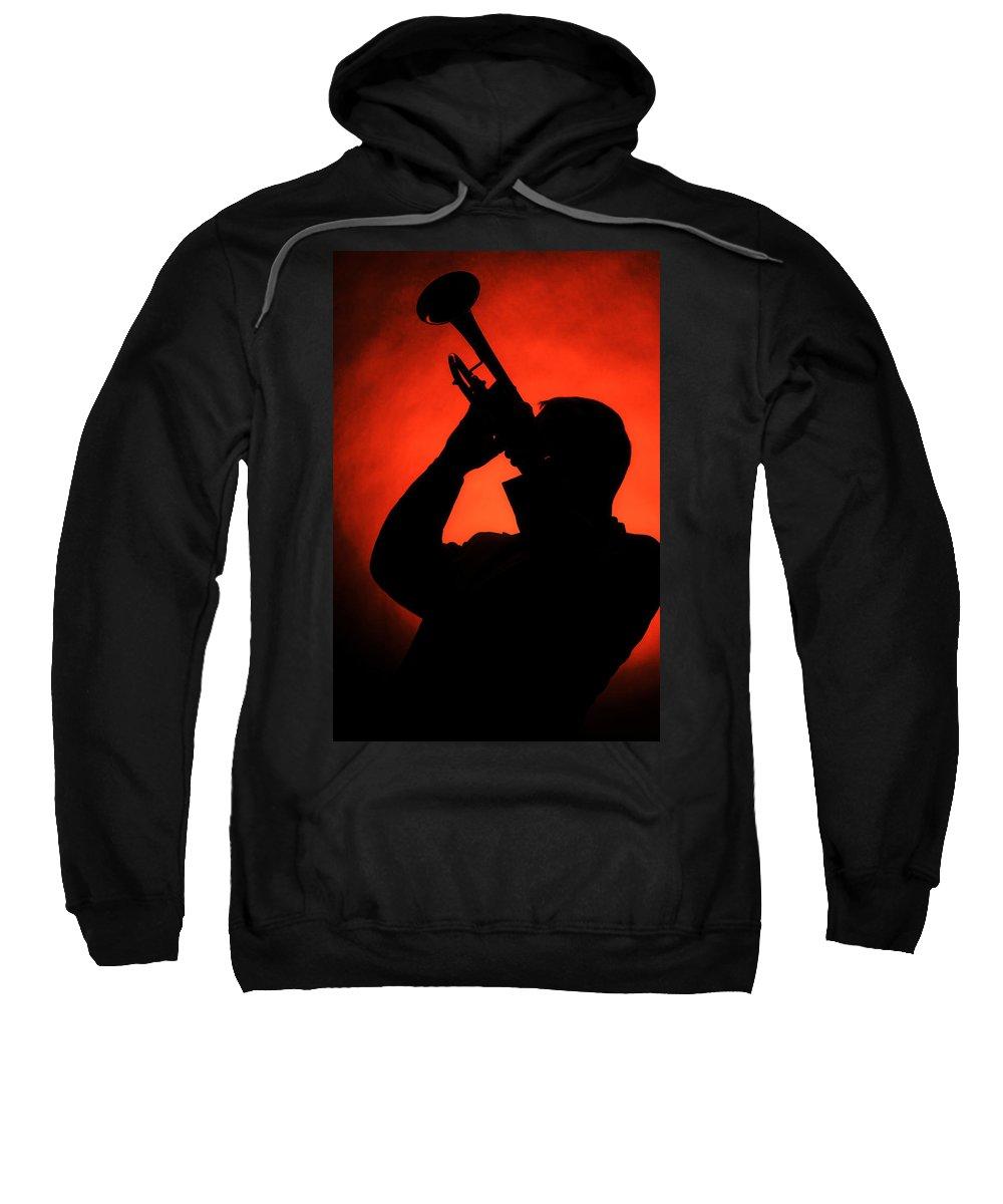 Fine Art Sweatshirt featuring the photograph All That Jazz by M K Miller