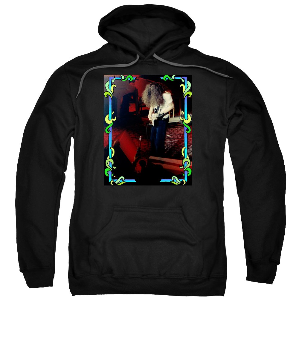 Allen Collins Sweatshirt featuring the photograph A C Winterland Bong 3 by Ben Upham
