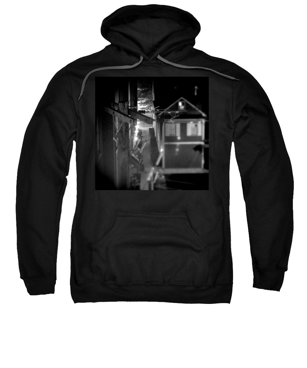 Alley Sweatshirt featuring the photograph Alley To High by Jean Macaluso