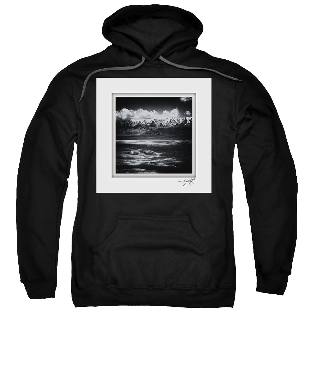 Columbia Gorge Sweatshirt featuring the photograph Alvord Desert 1 by Ingrid Smith-Johnsen