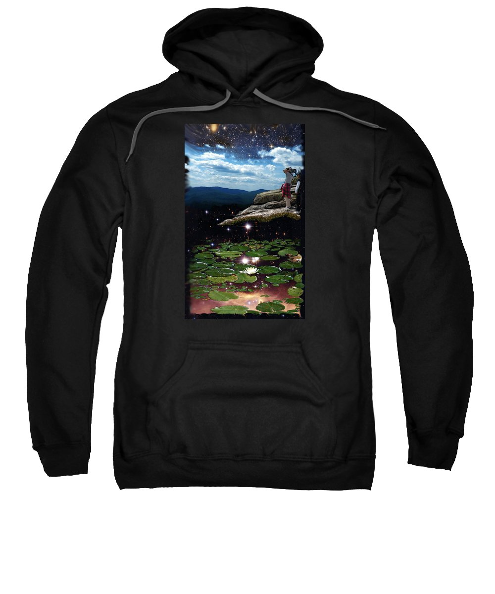 Astronomy Sweatshirt featuring the photograph Amazing World by Dave Martsolf
