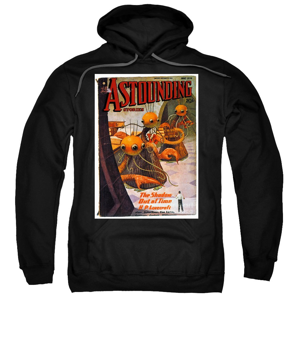 1936 Sweatshirt featuring the photograph American Magazine Cover by Granger