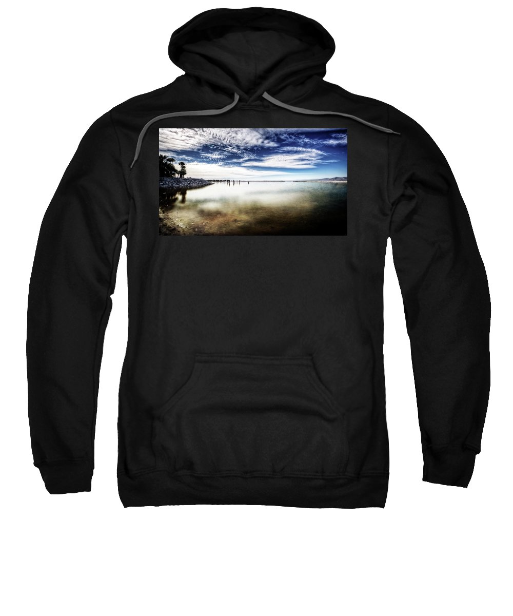 Sweatshirt featuring the photograph American Textures #27 by David Palmer