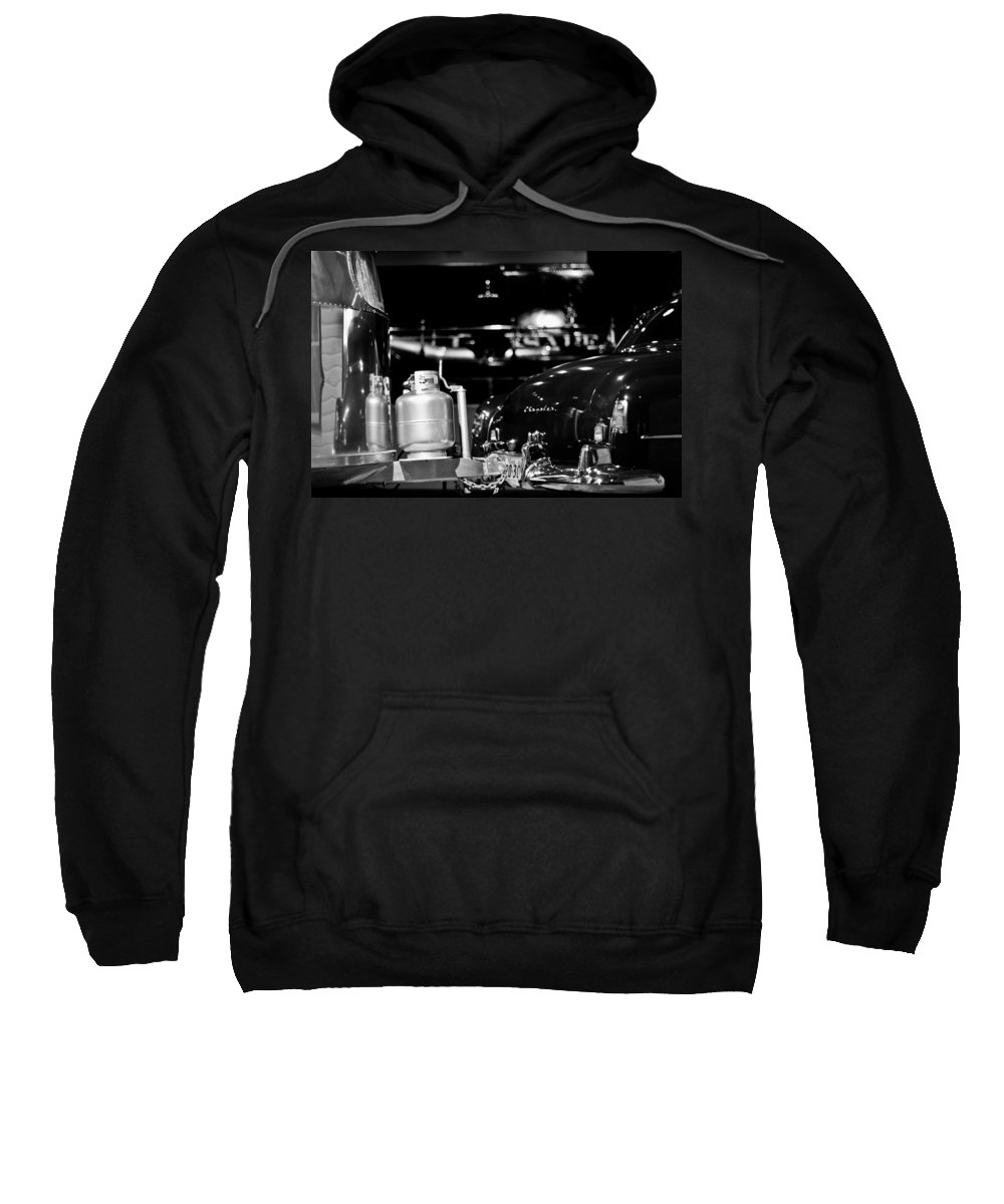 Chrysler Sweatshirt featuring the photograph American Vacation by Scott Wyatt