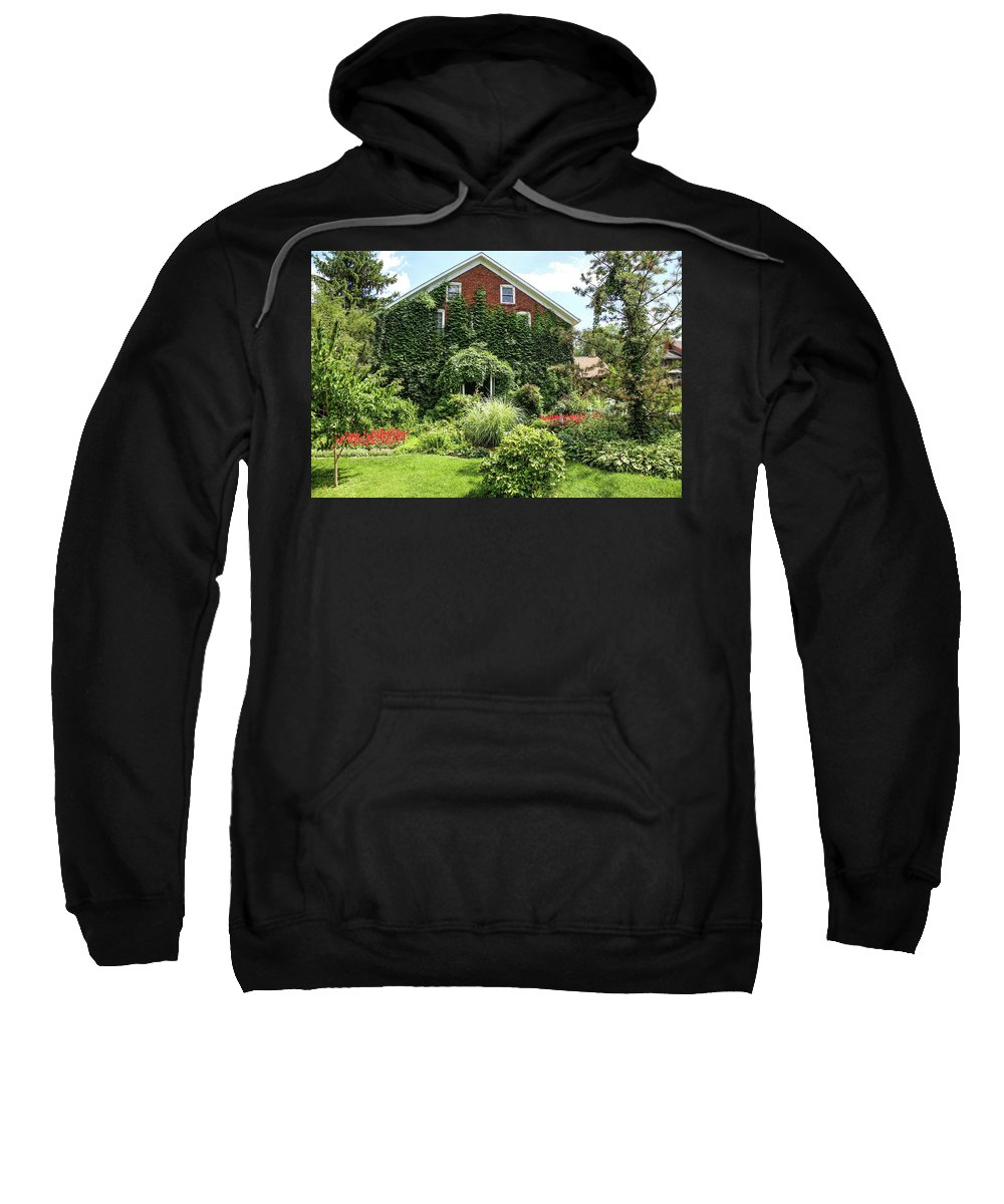 Amana Sweatshirt featuring the photograph An Amana Garden by Lynn Sprowl