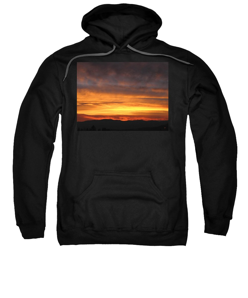 Sky Sweatshirt featuring the photograph An Astounding Sky by Will Borden