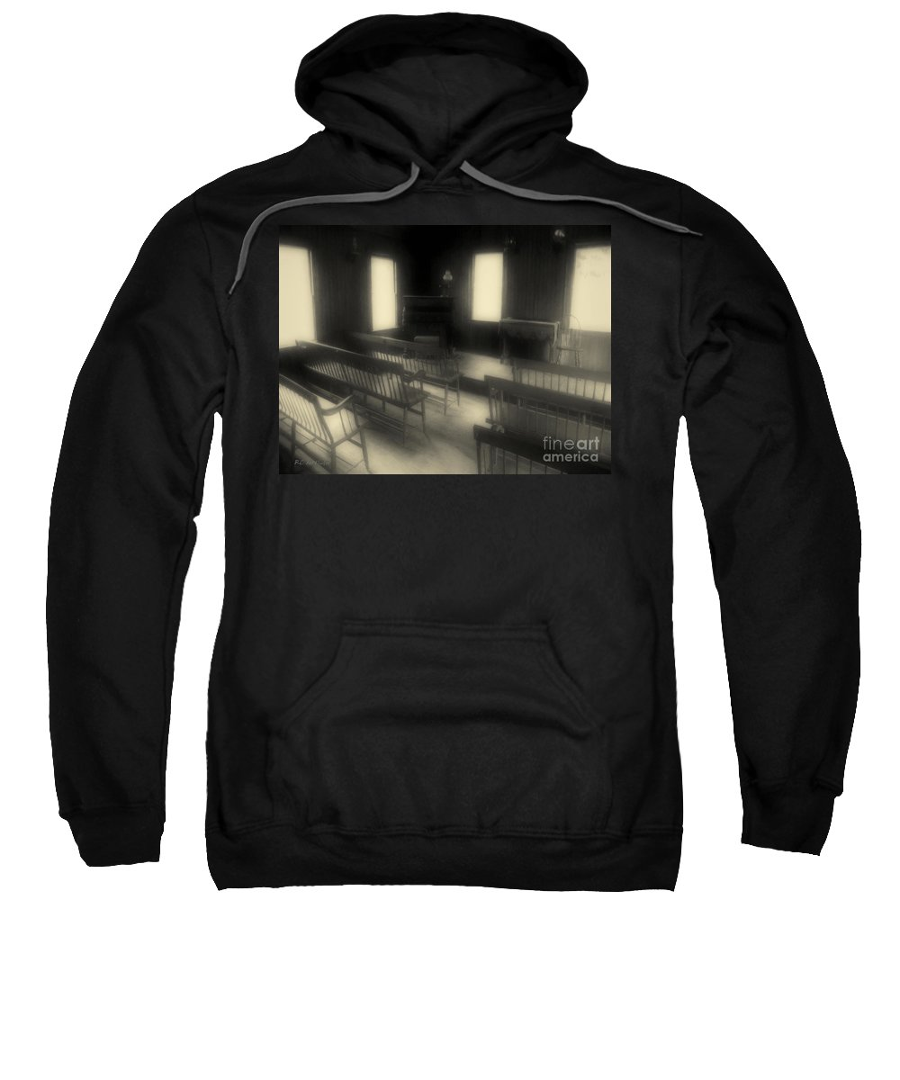 Benches Sweatshirt featuring the photograph Ancestor Worship by RC DeWinter