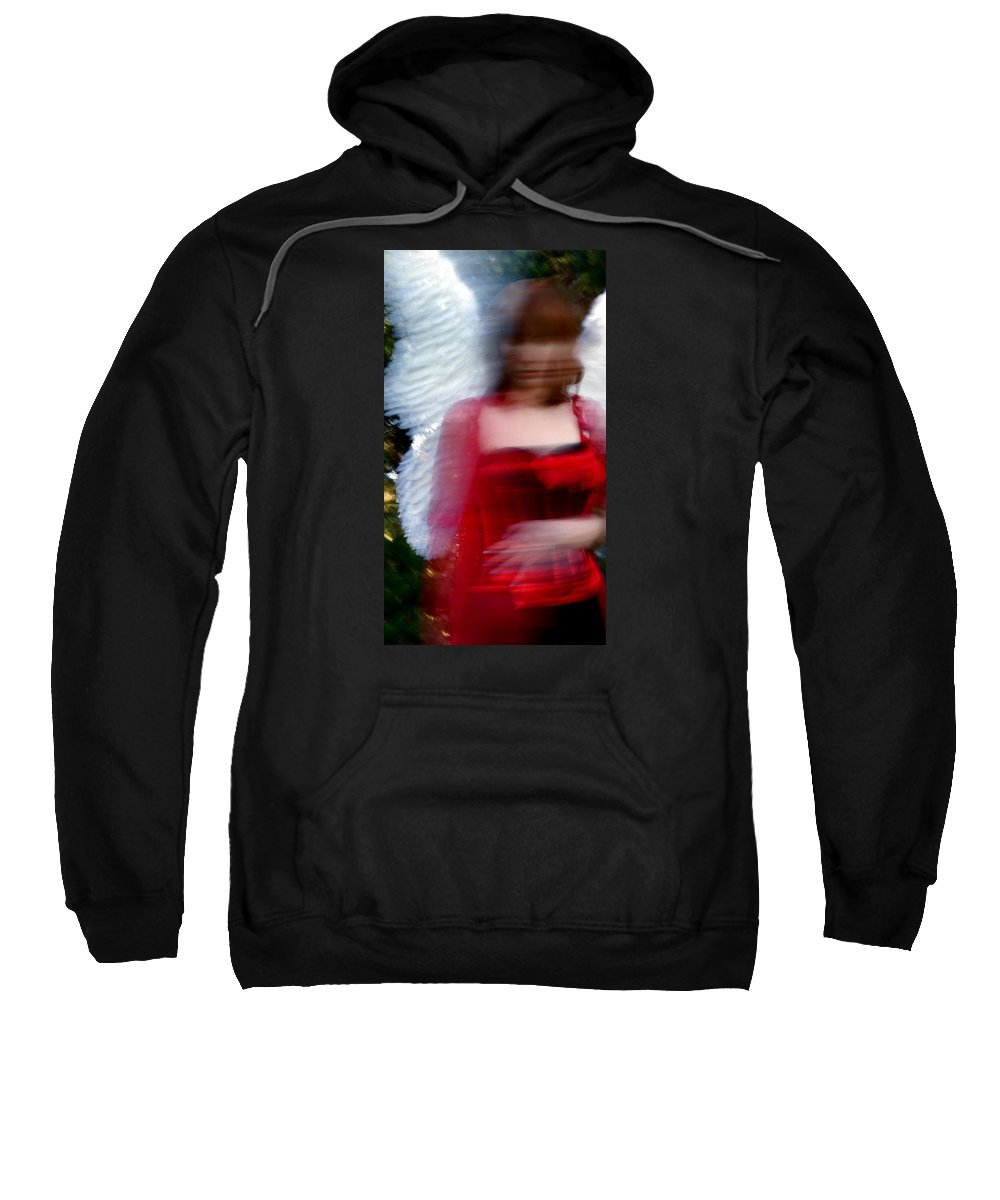 Sweatshirt featuring the photograph Angel 1 by Terry Wiklund