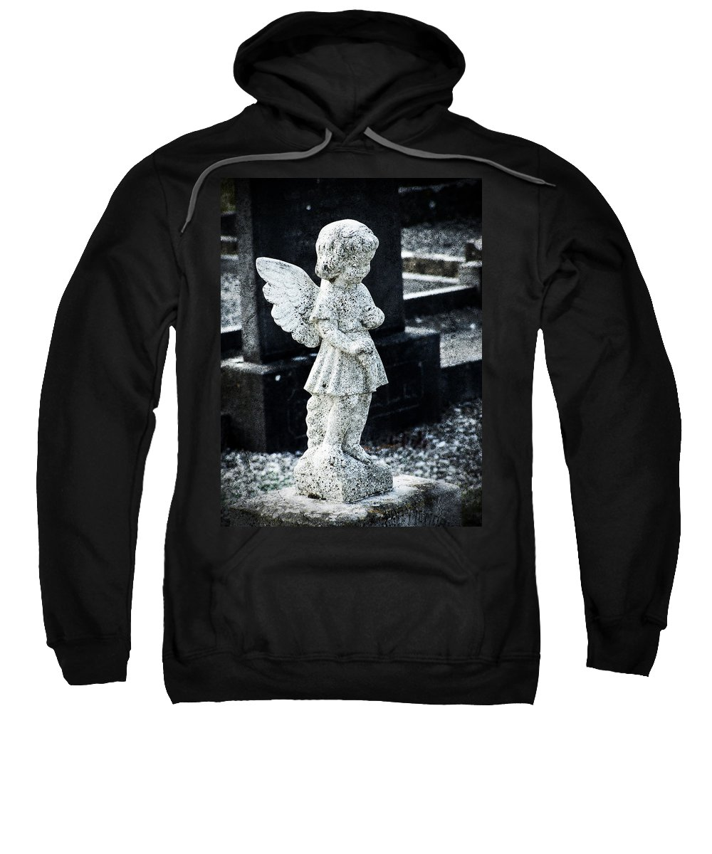 Ireland Sweatshirt featuring the photograph Angel In Roscommon No 3 by Teresa Mucha