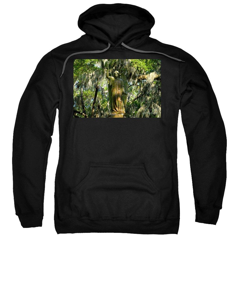 Savanna Georgia Sweatshirt featuring the photograph Angel Of Savanna by David Lee Thompson