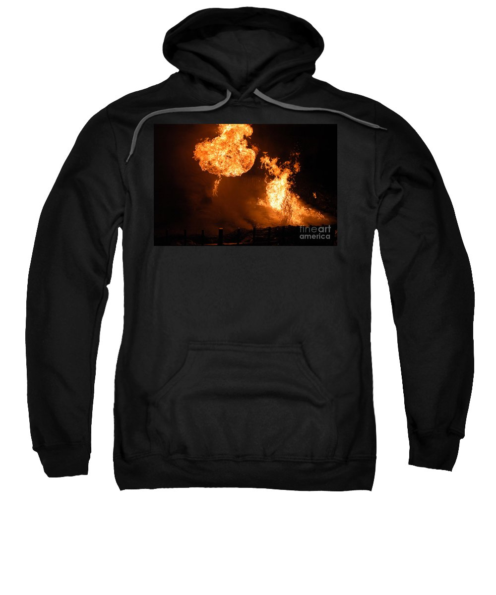 Clay Sweatshirt featuring the photograph Angry Face by Clayton Bruster