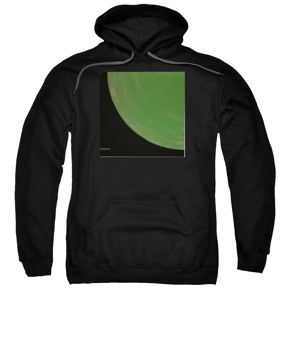 Landscape Sweatshirt featuring the painting Aquifer # 15 by Jonathan Perlstein