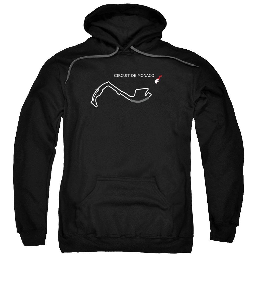 Monaco Sweatshirt featuring the photograph Circuit Of Monaco by Mark Rogan