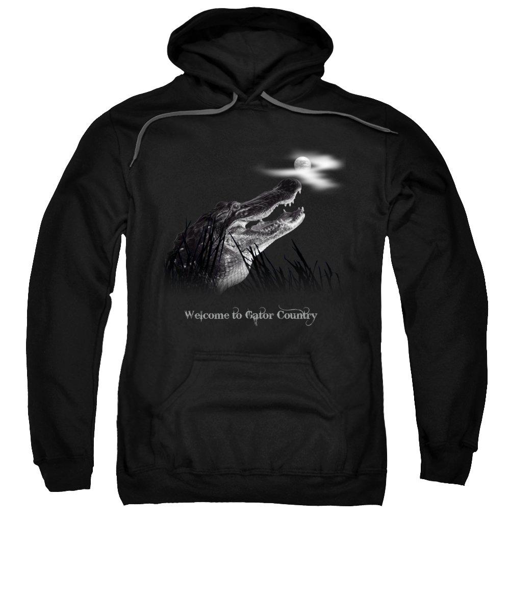 Crocodile Hooded Sweatshirts T-Shirts