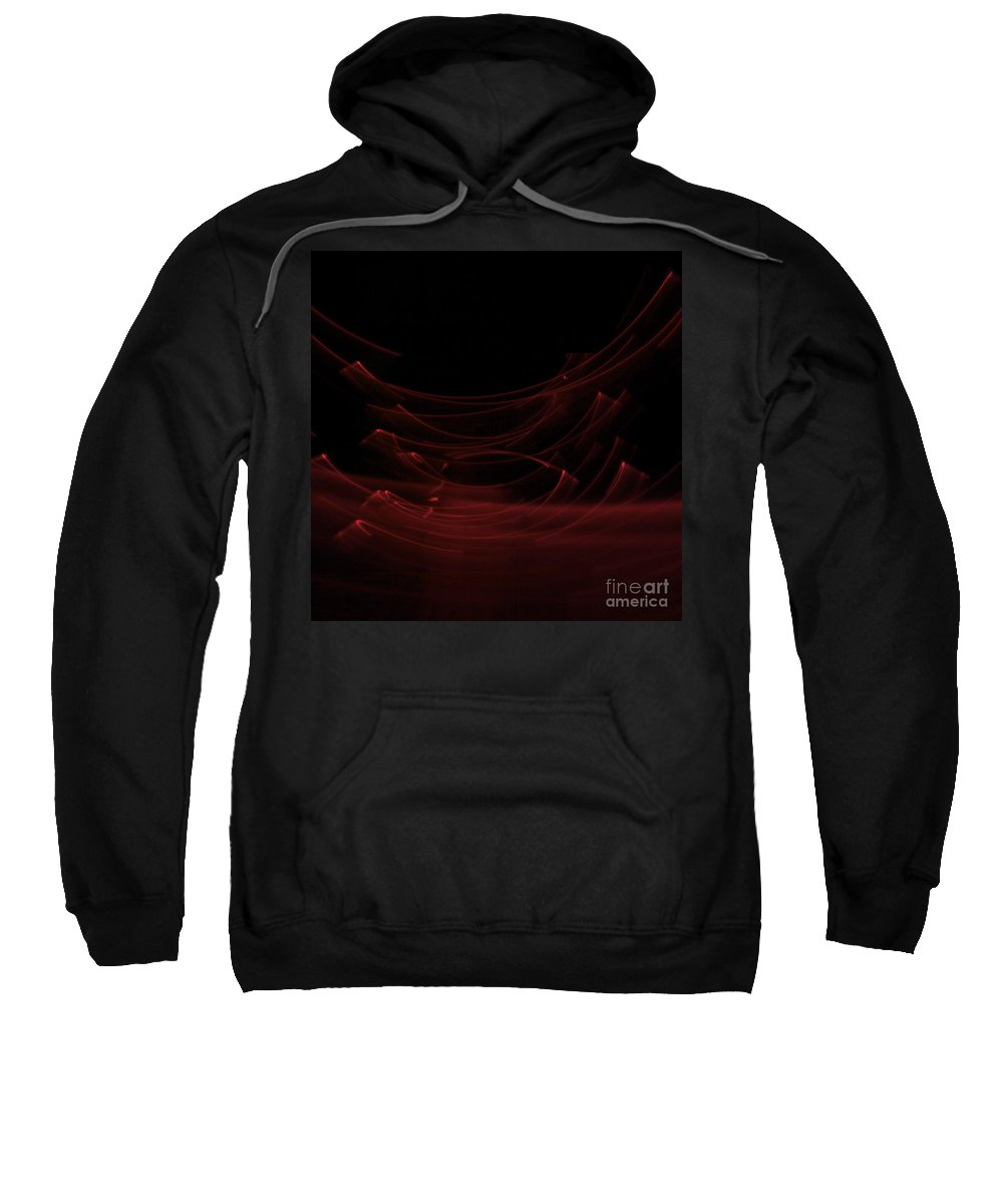 Light Painting Sweatshirt featuring the painting Ascension by Xn Tyler