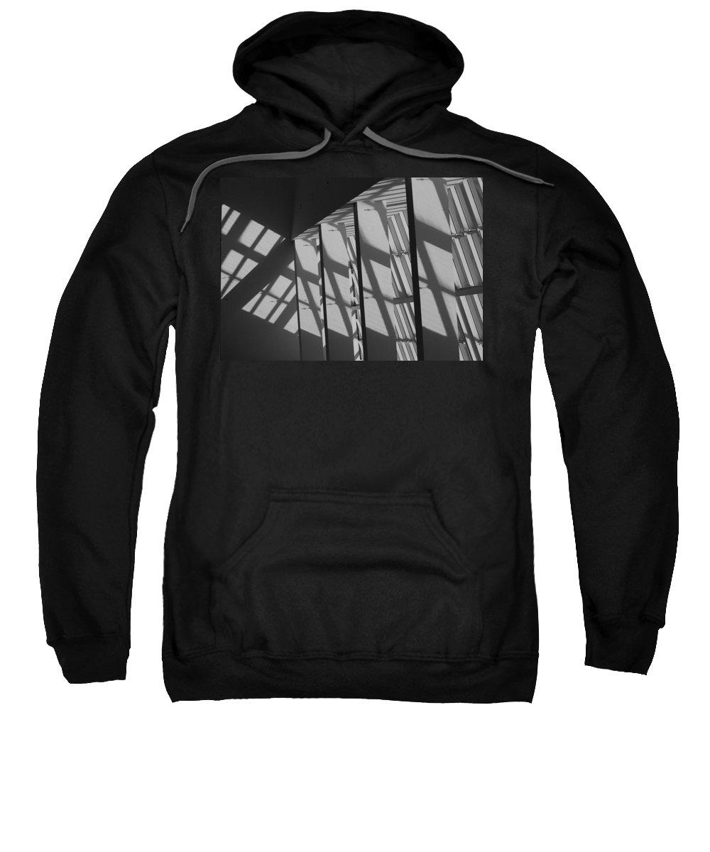 Shades Sweatshirt featuring the photograph Asylum Windows by Rob Hans