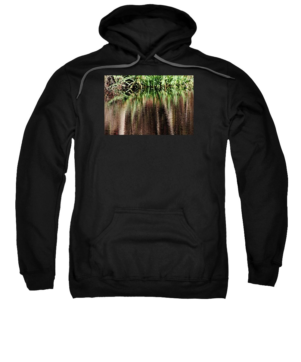 Water Sweatshirt featuring the photograph At The Edge Of The Pond by Charles Ray