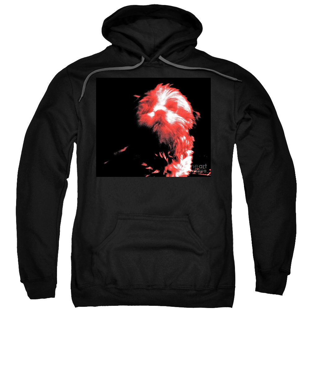 Abstract Sweatshirt featuring the photograph Atsuko by Xn Tyler