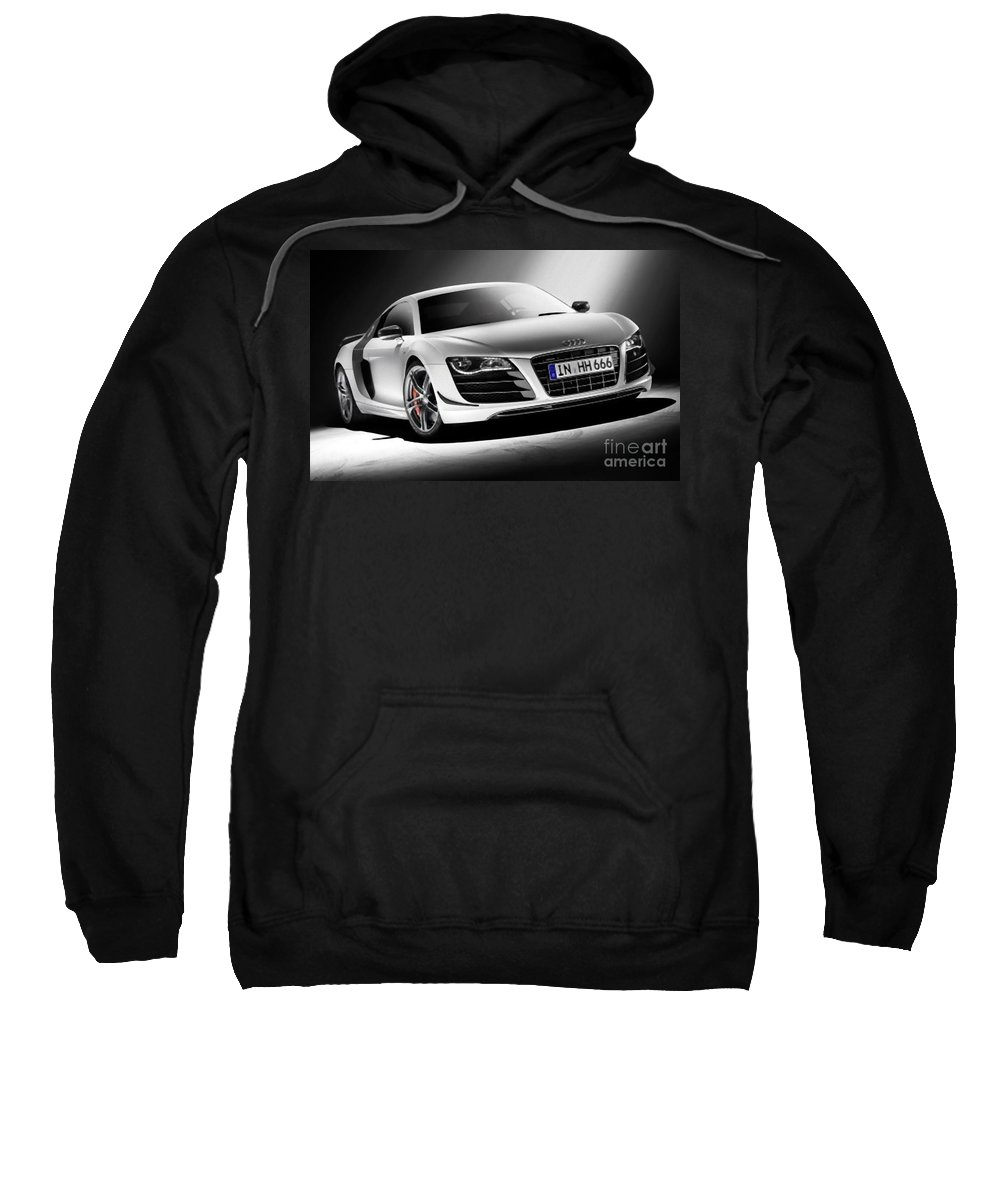 Audi Sweatshirt featuring the photograph Audi by Archangelus Gallery