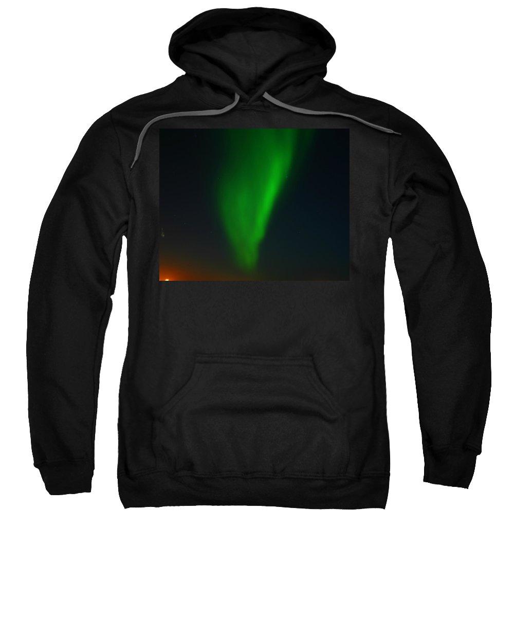 Aurora Borealis Sweatshirt featuring the photograph Aurora Borealis by Anthony Jones