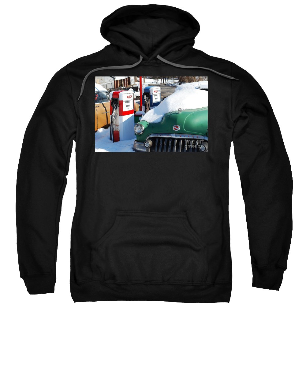 Old Car Sweatshirt featuring the photograph Back In The Day by Todd Hostetter