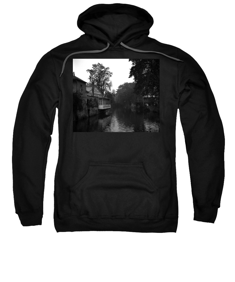Sweatshirt featuring the photograph Bad Kreuznach 10 by Lee Santa