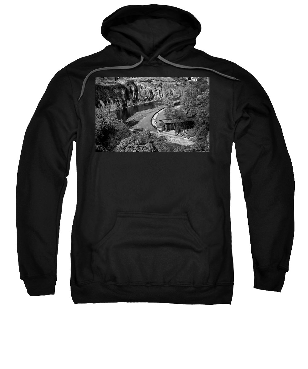 Sweatshirt featuring the photograph Bad Kreuznach 9 by Lee Santa
