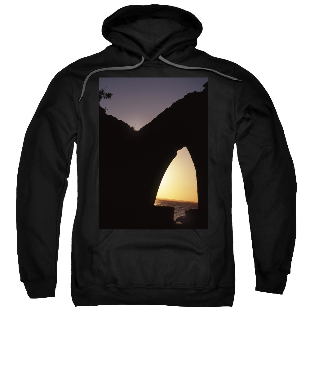 Bahia Sweatshirt featuring the photograph Bahian Sunset by Patrick Klauss