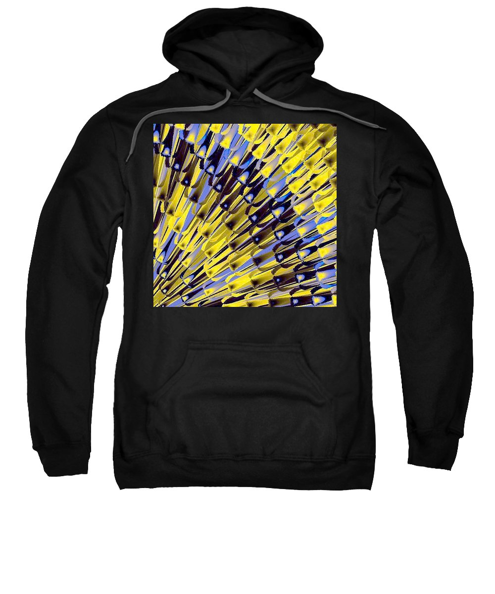 Bamboo Sweatshirt featuring the digital art Bamboo by Dragica Micki Fortuna