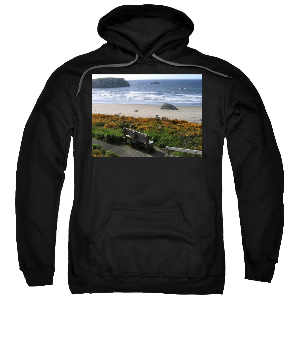 Bandon Sweatshirt featuring the photograph Bandon 6 by Will Borden