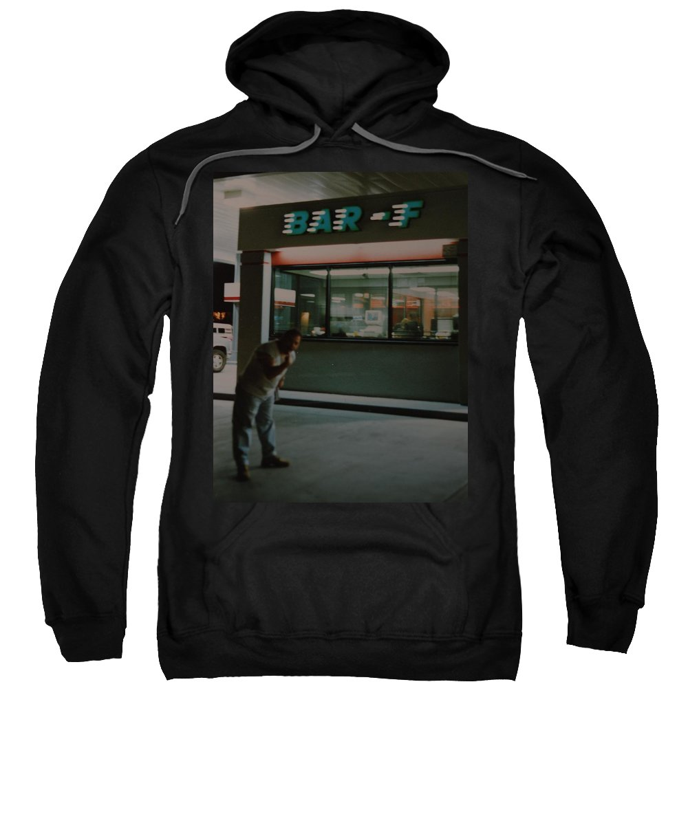 Funny Sweatshirt featuring the photograph Bar F by Rob Hans