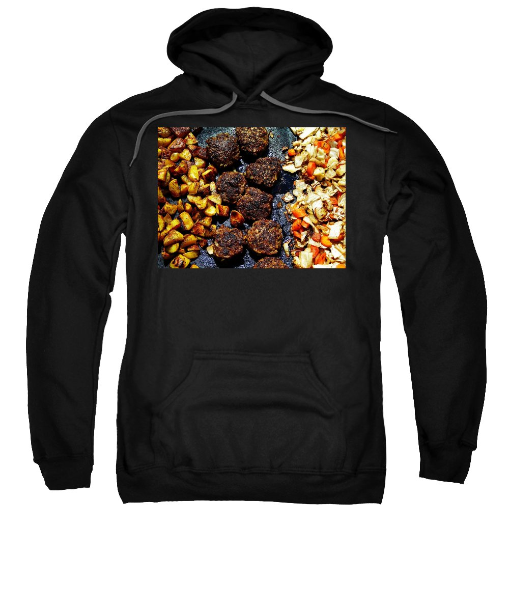 Barbecue Sweatshirt featuring the photograph Barbecue ... by Juergen Weiss