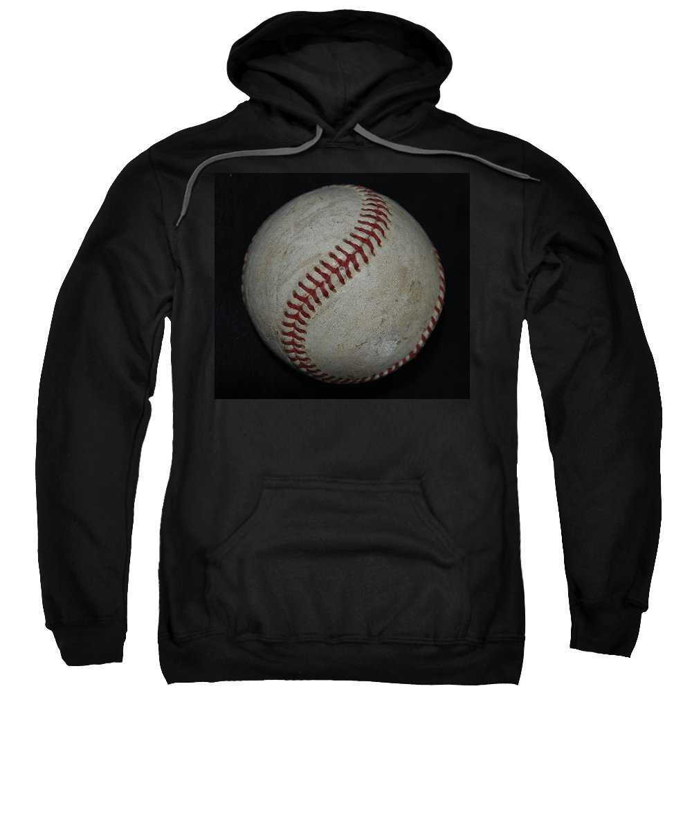 Pop Art Sweatshirt featuring the photograph Baseball by Rob Hans