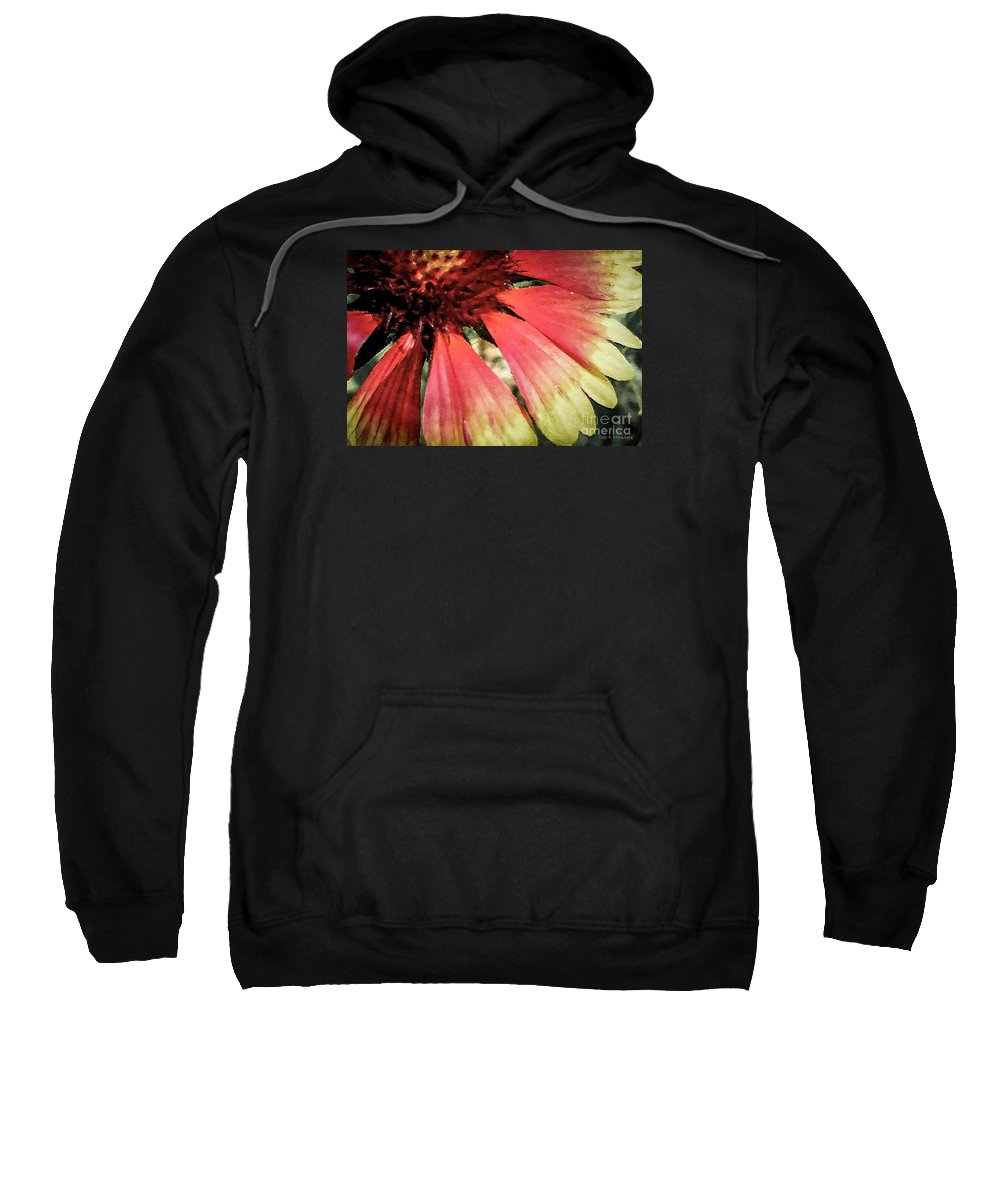Flora Sweatshirt featuring the photograph Basking In The Sun by Todd Blanchard