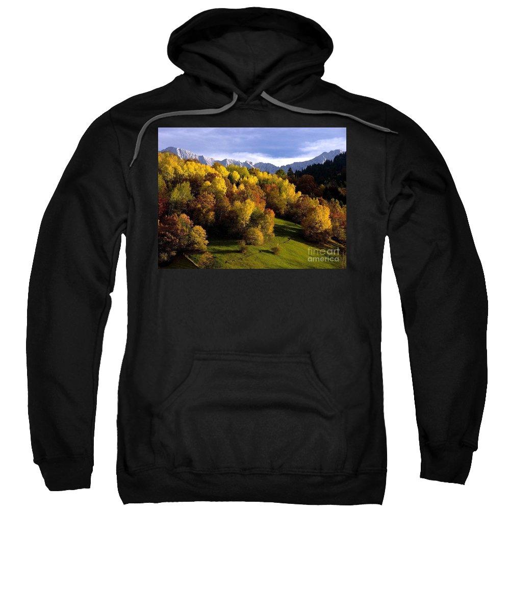 Mountains Sweatshirt featuring the photograph Bavarian Alps 2 by Randy Matthews