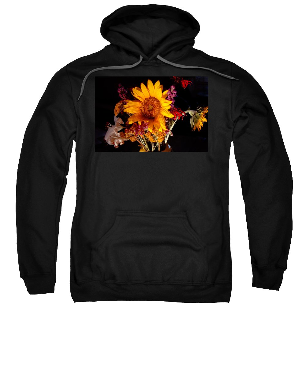 Sunflower Sweatshirt featuring the photograph Be Still by Trish Hale