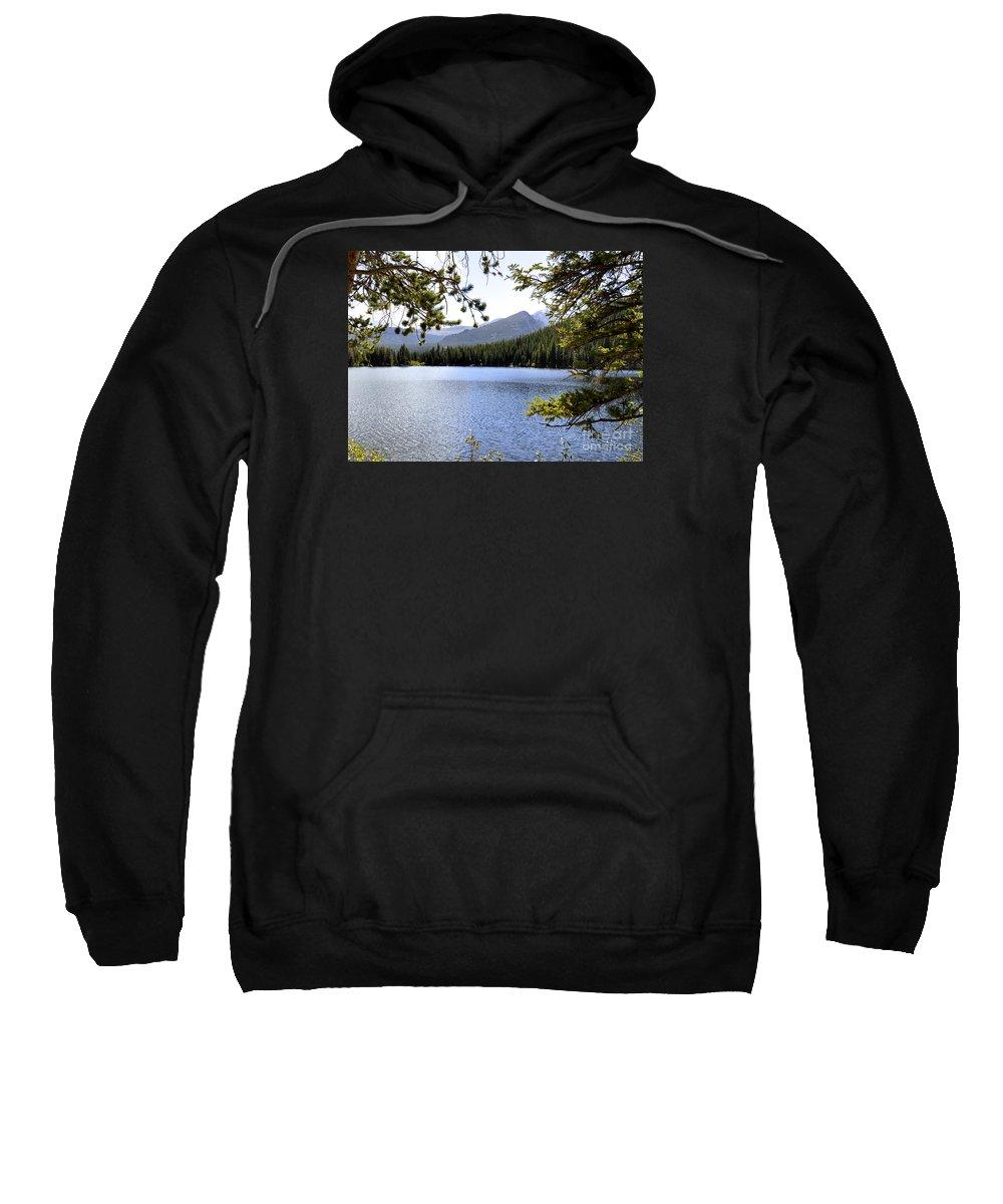 Nature Sweatshirt featuring the photograph Bear Lake Rmnp by Nava Thompson