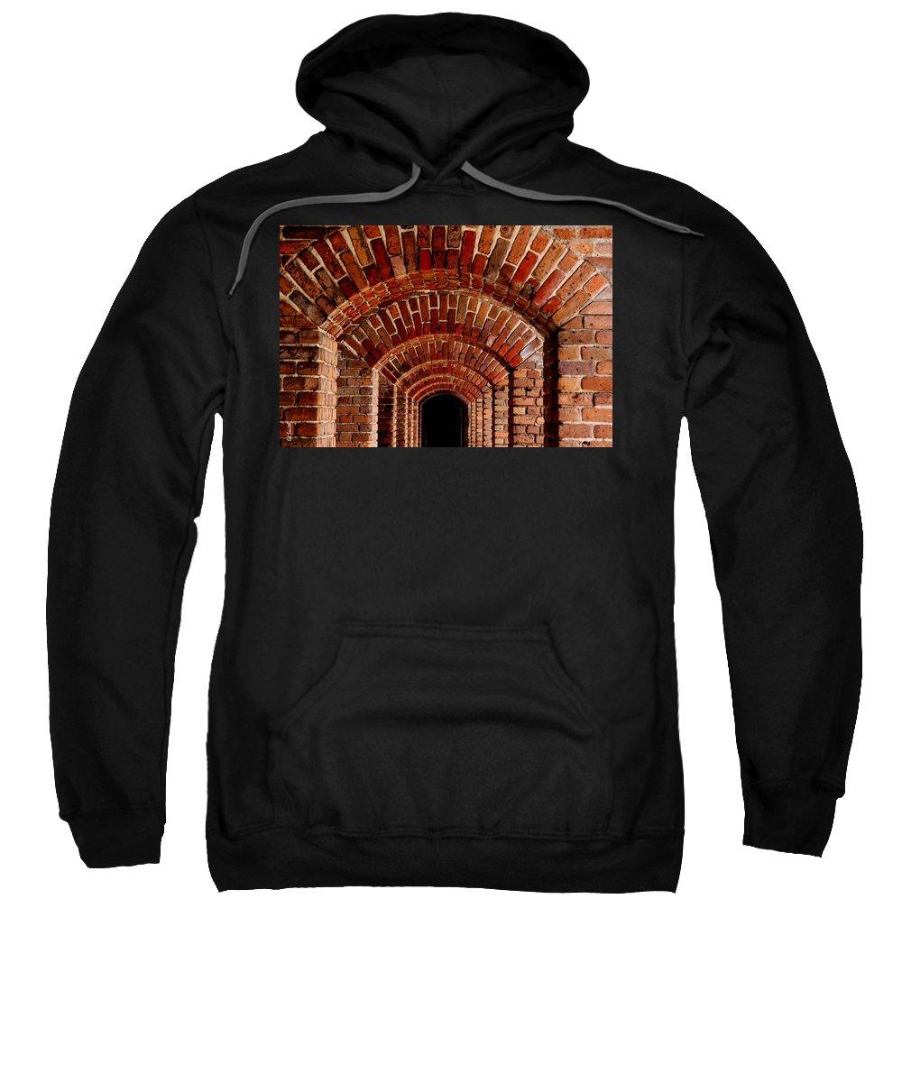 Beautiful Brick Sweatshirt featuring the photograph Beautiful Brick by Ed Smith